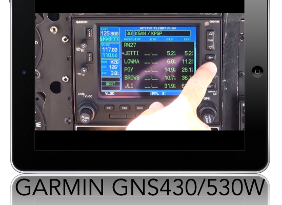 GARMIN GNS430/530W Setup & Enroute use, Flight Plans and SIDs/STARs