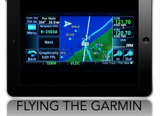 FLYING THE GARMIN GTN650/750